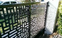 Custom built gate - Melbourne
