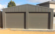 residential double shed