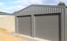 double new garage