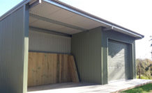 skillion roof shed build